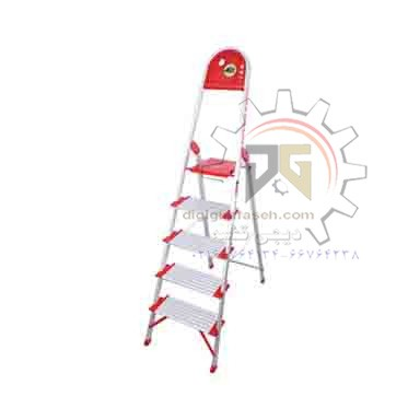 نردبان 5 پله آلومینیومی کاسپین