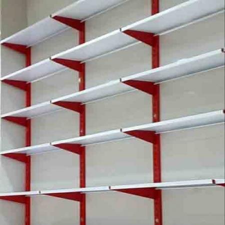 ست قفسه دیواری فروشگاهی طرح قدیم ارتفاع 150 سانتیمتر