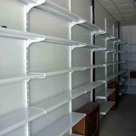 ست قفسه دیواری فروشگاهی طرح قدیم ارتفاع 200 سانتیمتر