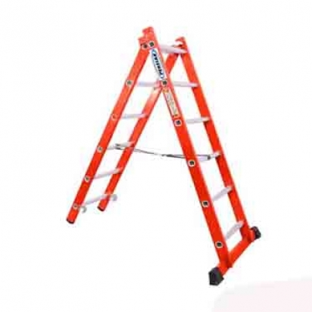 نردبان 3 متری دو تیکه پله مربع پرشین