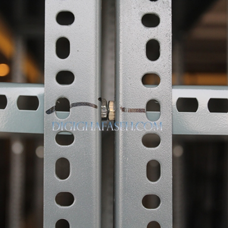 ست قفسه پیچ و مهره ای انباری به طول 95 عمق 30 سانتیمتر